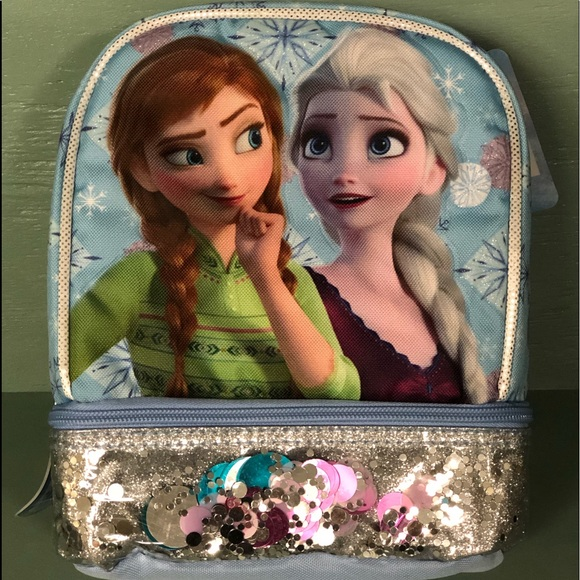 Disney Frozen lunch bag w/2 compartments NEW!